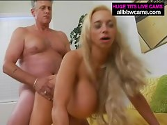 What is you wish ? Giant boobs and blond pussy pt 2