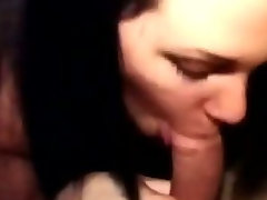 Campus slut blowing and fucking my cock