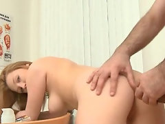 Redhead Gets Fucked By Her Doctor