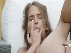 Self pleasure of beautiful russia babe