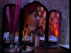 2 girls take turns blowing 1 cock