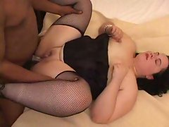 Big mommas in cock-blowing acction
