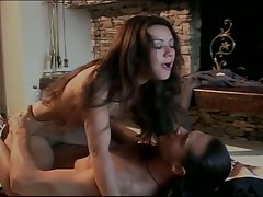 Vintage style pussy corruption with nasty brunette