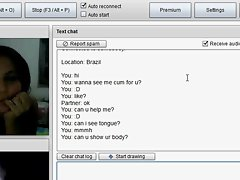brazil chick in chatroulette see me