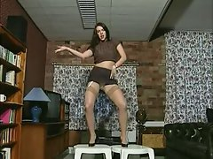 English bitch Jade plays with herself in various episodes