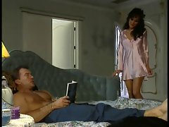 Filthy crazy threesome action with Asia Carrera in execution with a sensual couple
